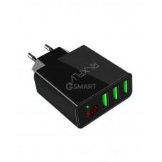 Зарядное устройство RAXFLY 3 USB 3A